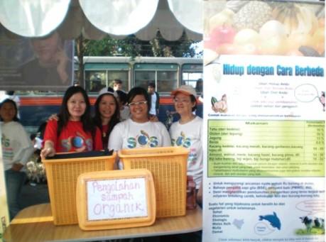 Pengolahan sampah organik dan cara hidup alternatif